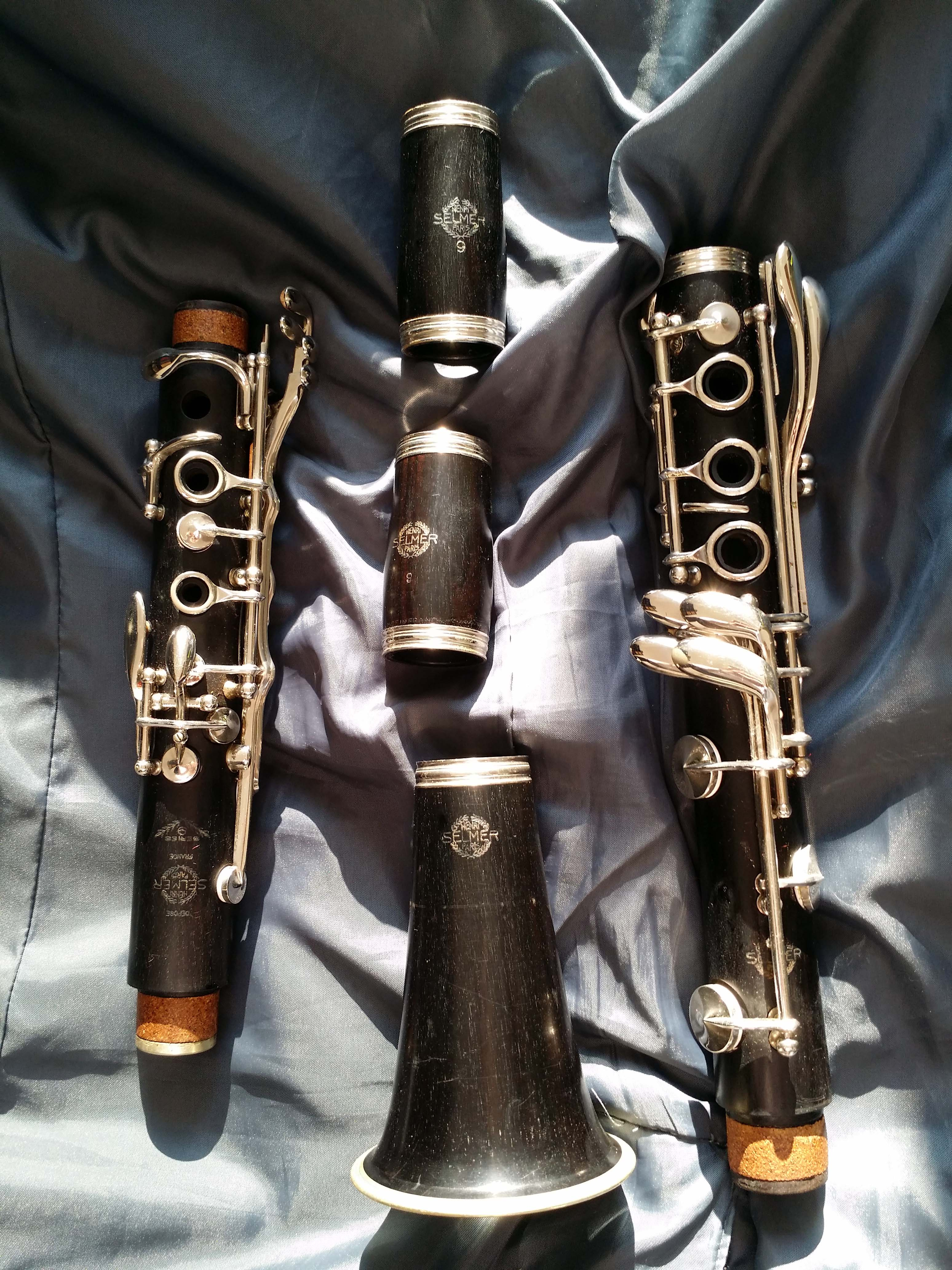 Bb clarinet Selmer Paris 9