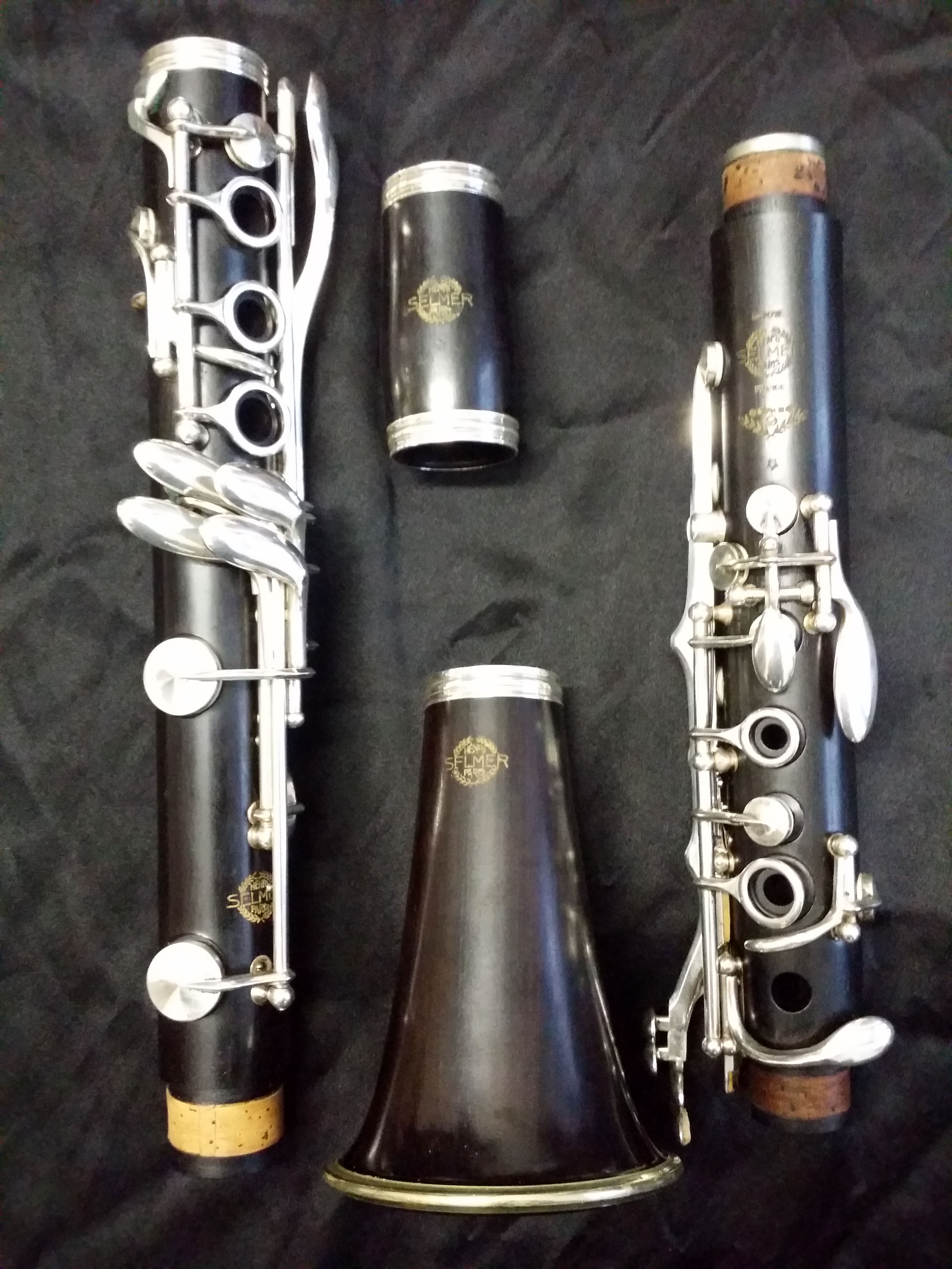 Bb clarinet Selmer Paris 9star - T series 1964