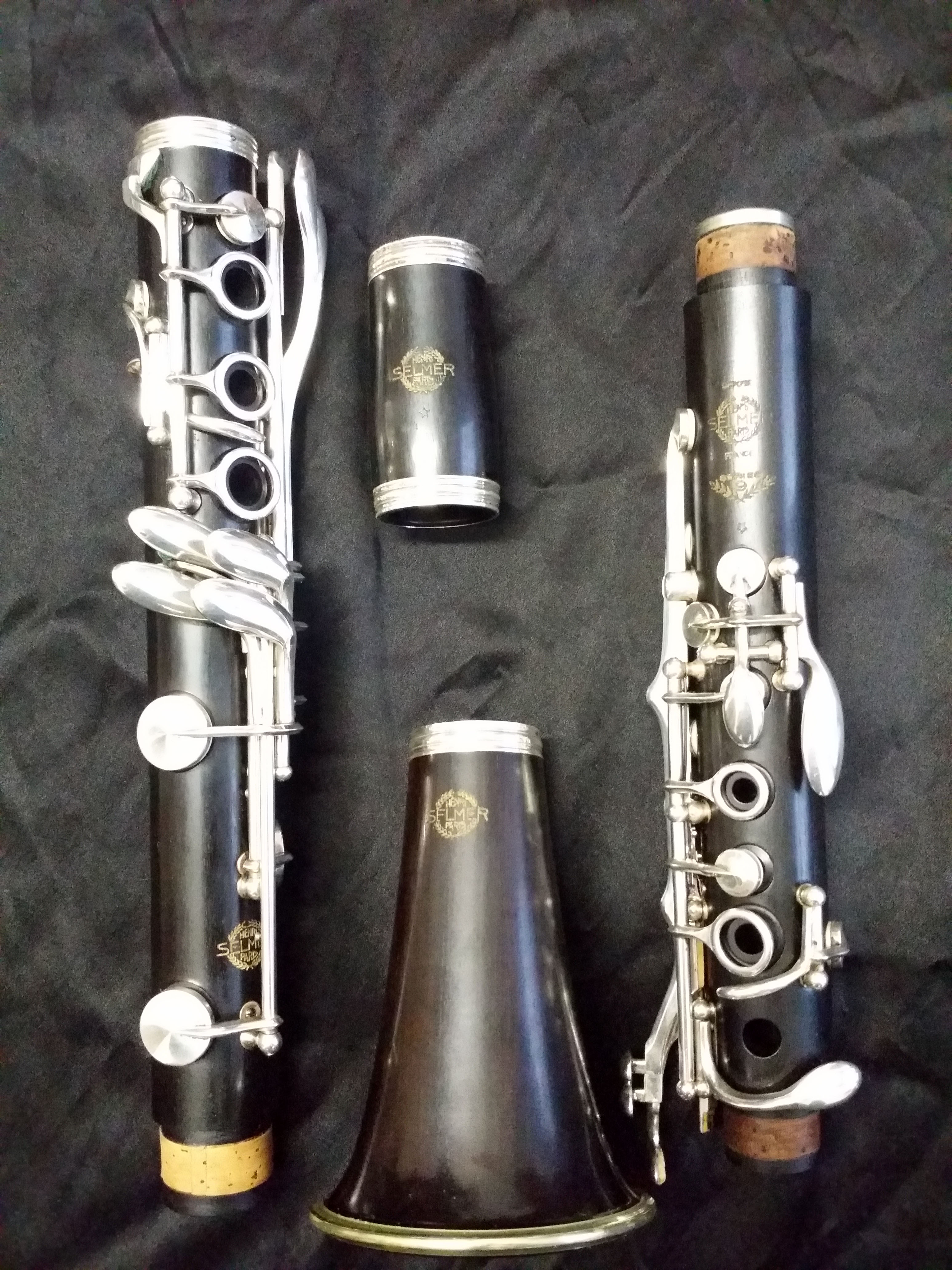 Bb klarinet Selmer Paris 9*