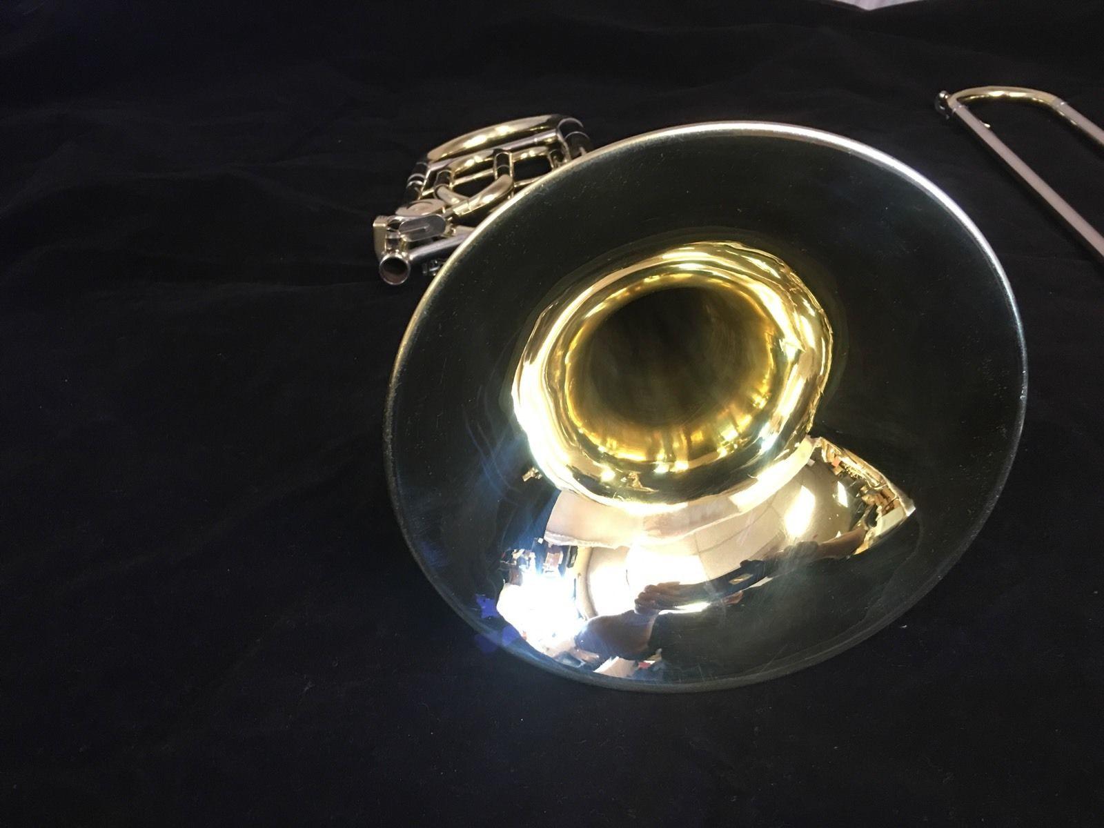 Bb tenor trombone KING 4B with F attachement